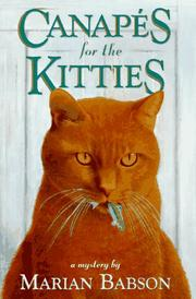 Book Cover for CANAPES FOR THE KITTIES