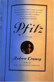 PFITZ by Andrew Crumey