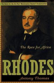 Cover art for RHODES