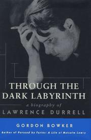 Cover art for THROUGH THE DARK LABYRINTH