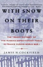 WITH SNOW ON THEIR BOOTS by Jamie H. Cockfield