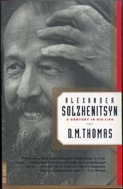 ALEXANDER SOLZHENITSYN by D.M. Thomas