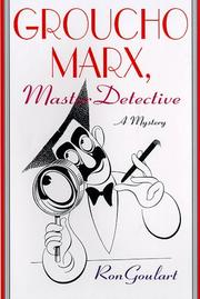 Book Cover for GROUCHO MARX, MASTER DETECTIVE