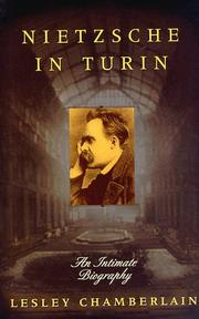 Book Cover for NIETZSCHE IN TURIN
