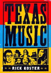 Book Cover for TEXAS MUSIC