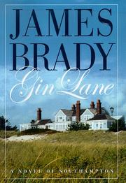 GIN LANE by James Brady