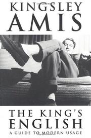 A KING'S ENGLISH by Kingsley Amis