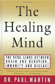 THE HEALING MIND by Paul Martin