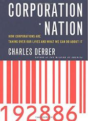 CORPORATION NATION by Charles Derber