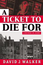 Cover art for A TICKET TO DIE FOR