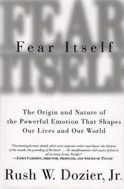 FEAR ITSELF by Jr. Dozier