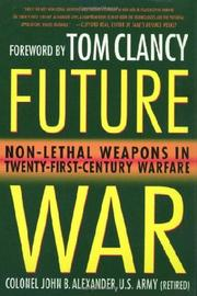 FUTURE WAR by John Alexander