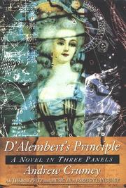 D'ALEMBERT'S PRINCIPLE by Andrew Crumey