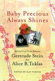 BABY PRECIOUS ALWAYS SHINES by Gertrude Stein
