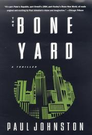 Cover art for THE BONE YARD