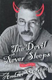 Cover art for THE DEVIL NEVER SLEEPS