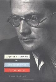 Cover art for A QUIET AMERICAN