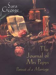 THE JOURNAL OF MRS. PEPYS by Sara George