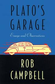 PLATO'S GARAGE by Rob Campbell
