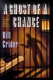 THE GHOST OF A CHANCE by Bill Crider