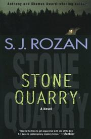 STONE QUARRY by S.J. Rozan
