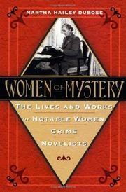 WOMEN OF MYSTERY by Martha DuBose