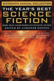 Cover art for THE YEAR'S BEST SCIENCE FICTION