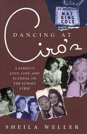 Cover art for DANCING AT CIRO'S