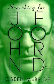Cover art for SEARCHING FOR JOHN FORD