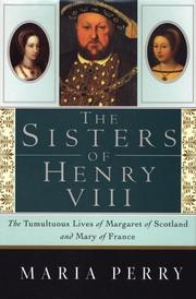 Cover art for THE SISTERS OF HENRY VIII
