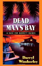 Cover art for DEAD MAN'S BAY