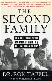 THE SECOND FAMILY by Ron  Taffel