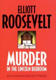 Cover art for MURDER IN THE LINCOLN BEDROOM