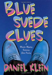 Book Cover for BLUE SUEDE CLUES