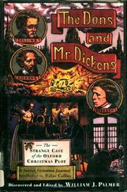 THE DONS AND MR. DICKENS by William J. Palmer
