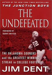 Cover art for THE UNDEFEATED