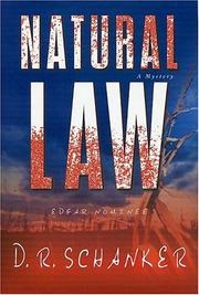 NATURAL LAW by D.R. Schanker
