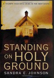 Book Cover for STANDING ON HOLY GROUND