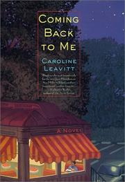 Book Cover for COMING BACK TO ME