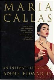 MARIA CALLAS by Anne Edwards