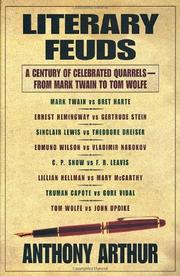 LITERARY FEUDS by Anthony Arthur