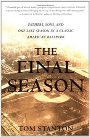 THE FINAL SEASON by Tom Stanton