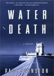 Cover art for WATER OF DEATH