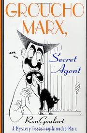 Book Cover for GROUCHO MARX, SECRET AGENT