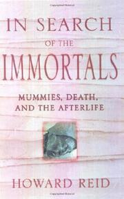 IN SEARCH OF THE IMMORTALS by Howard Reid