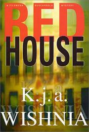 Book Cover for RED HOUSE