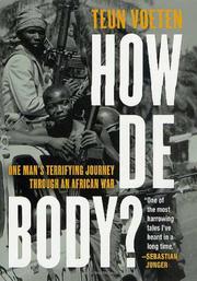 HOW DE BODY? by Teun Voeten
