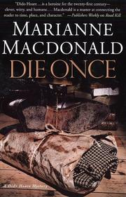 DIE ONCE by Marianne Macdonald