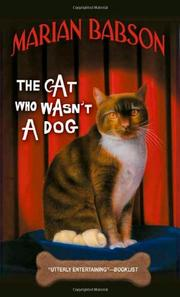 Book Cover for THE CAT WHO WASN'T A DOG
