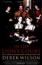 Book Cover for IN THE LION'S COURT